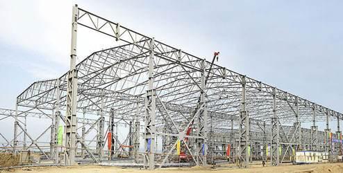 银川二手钢结构-要买称心的银川二手钢结构,就上宁夏尚锦建筑