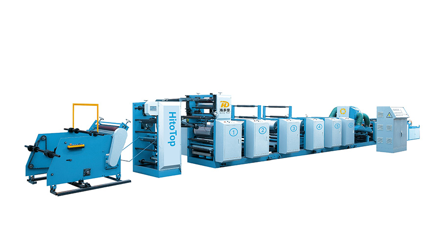 塑編布柔版印刷機