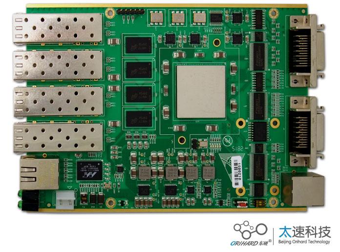 220-XC7K160T四路光纤数据转发卡
