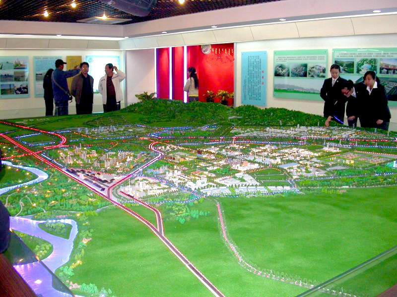 新疆沙盤模型