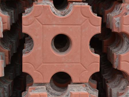 八字磚生產商|萬興建材優惠的草坪磚供應