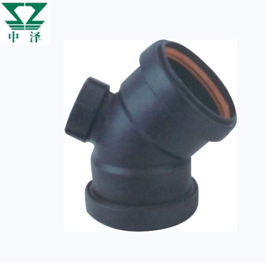 柔性承插HDPE静音排水管