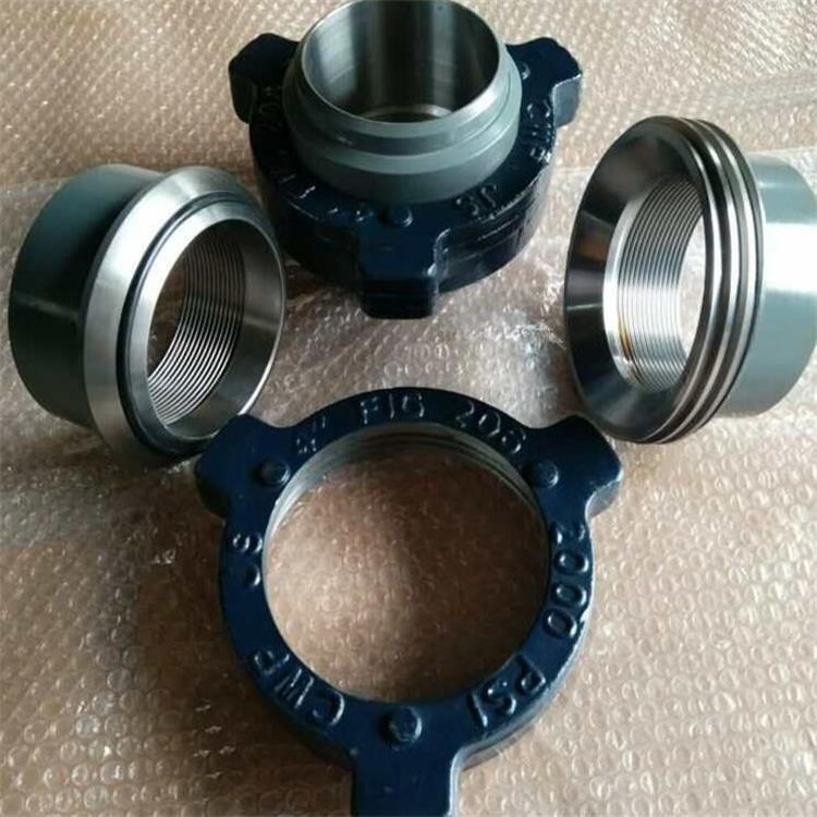 金屬軟管油壬接頭-鉆井用的高壓由壬標準