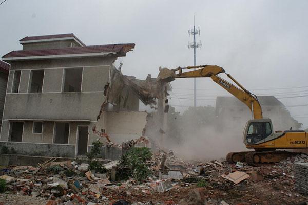 哈尔滨厂房拆除 哈尔滨房屋拆除