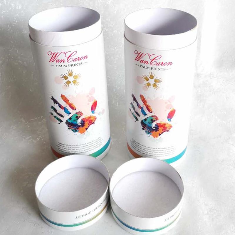 广州市低价彩色酒盒茶叶纸筒盒食品纸颧转筒包装盒袋制品印刷厂