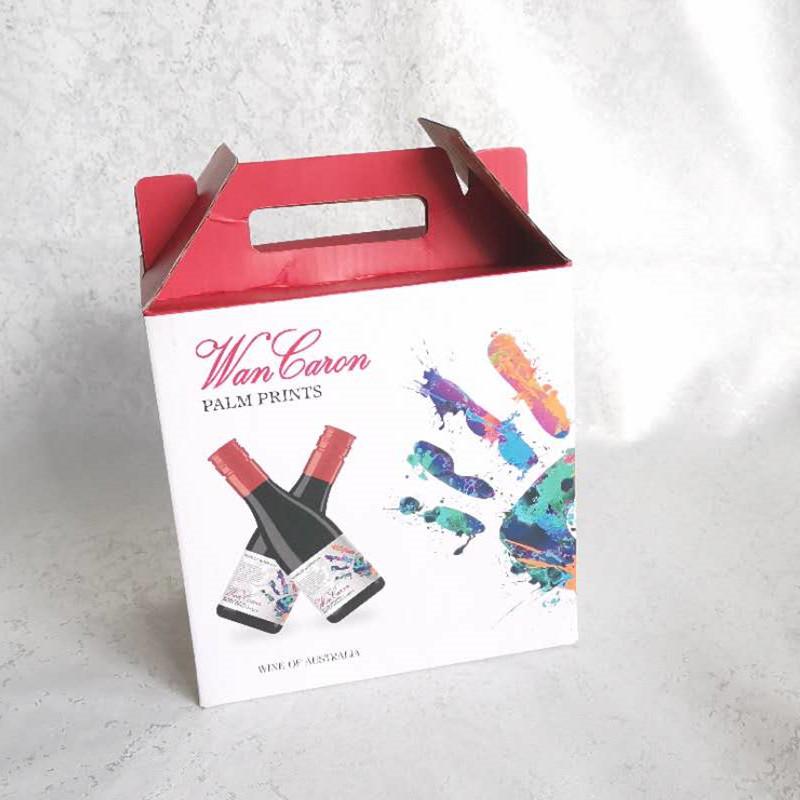 彩色坑纸包装盒瓦楞纸礼品包装水果包装盒礼品包装制品印刷厂