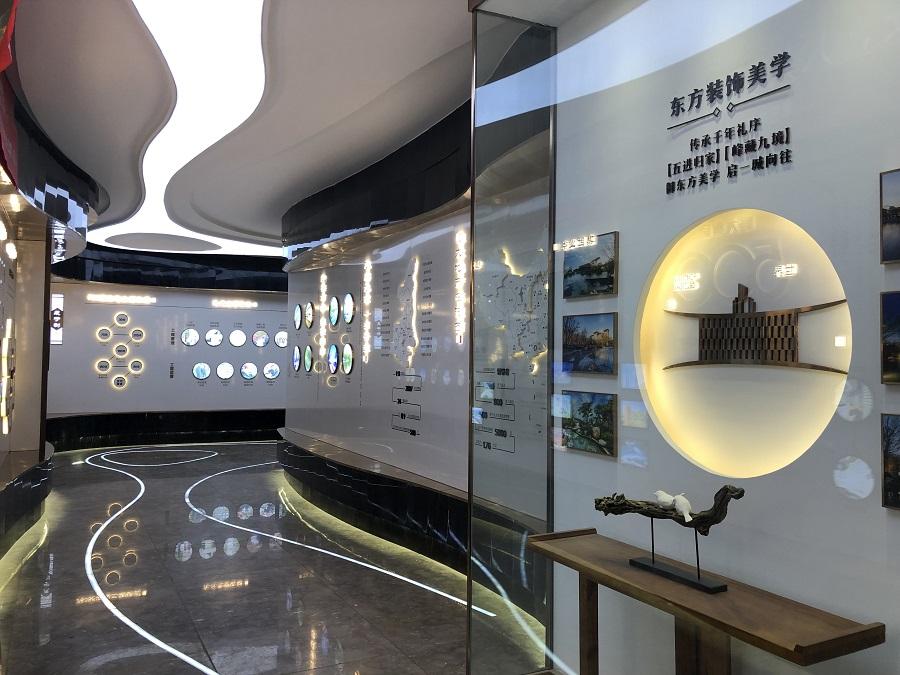 重庆工法品牌展示制作厂家-浙江品牌形象墙设计