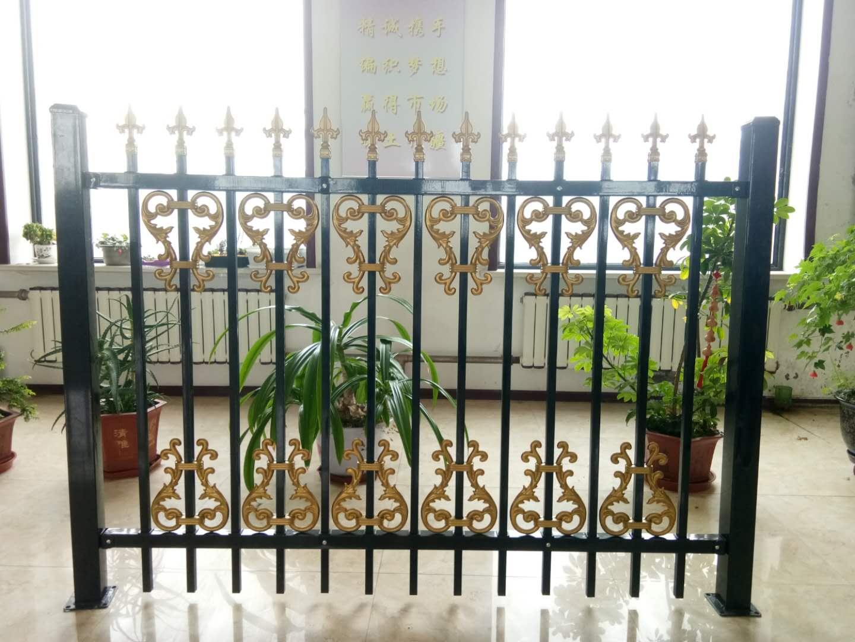 锌钢护栏-黑龙江省新款哈尔滨铁艺围栏供应出售