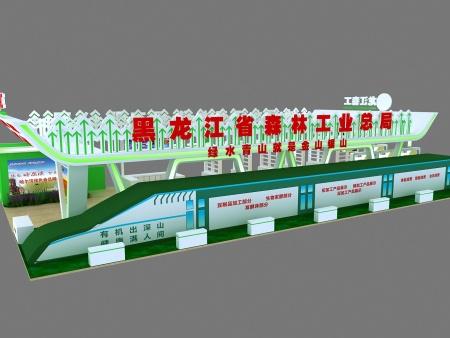 吉林展會型材結構案例-想找誠信的哈爾濱展會搭建,就來哈爾濱北展
