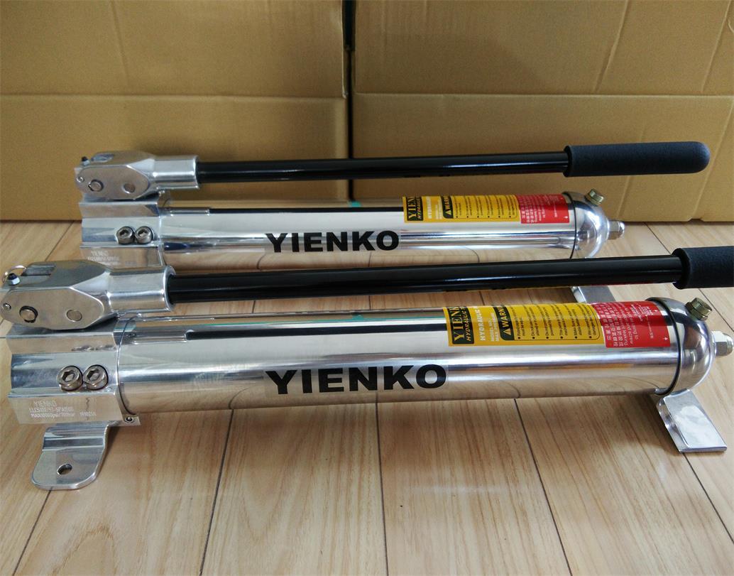 YIENKO鋁合金手動液壓泵代理|YIENKO上海譯恩供應價位合理的YIENKO鋁合金手動液壓泵