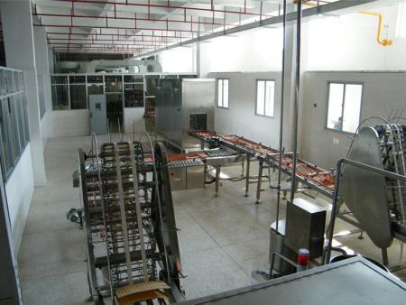 异形威化饼生产线