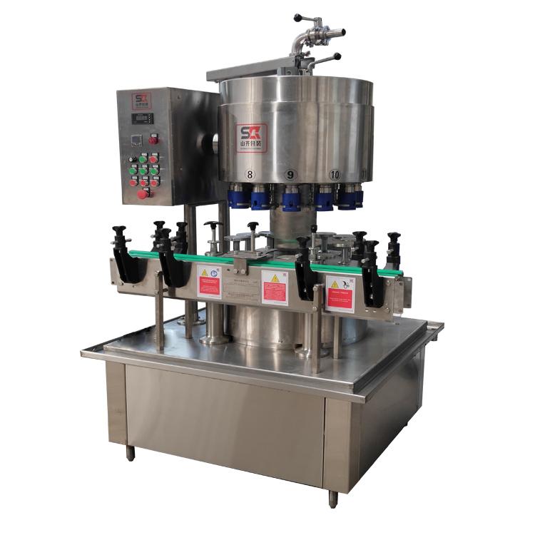 遼寧酒水灌裝機價格-量杯定量液體灌裝機 山齊灌裝機械供應