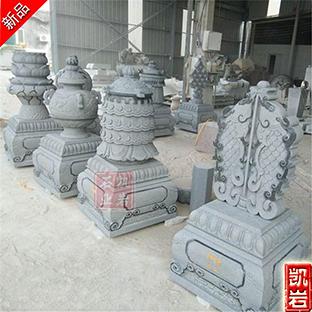 佛教石雕八宝雕刻