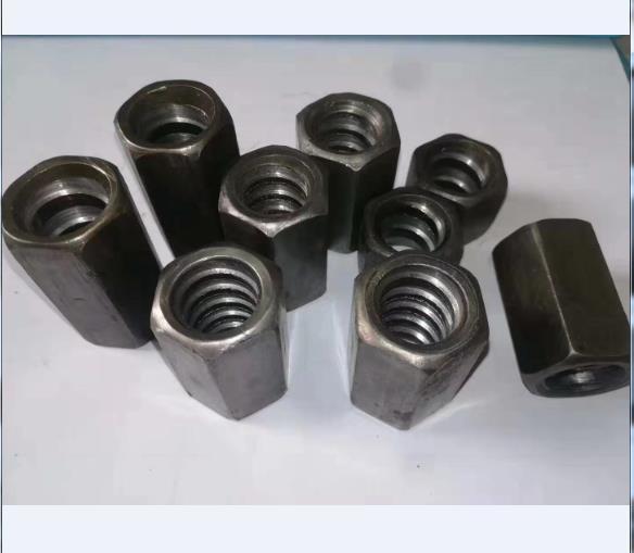 碳钢梯形扣法兰母 建筑螺杆专用六角母厂家直供
