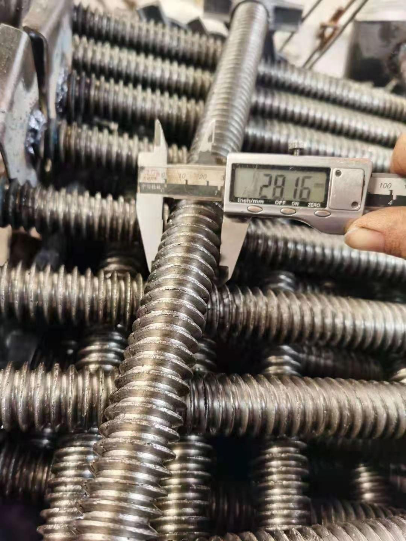 穿墙丝杆厂家直供 铝模对拉杆 梯形扣穿墙丝