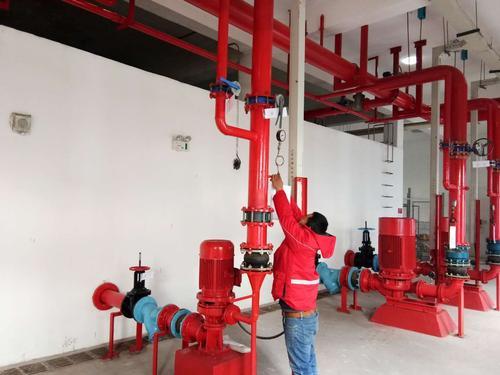 泉州市办公室内消防改造工程-晋江消防自动喷淋系统安装