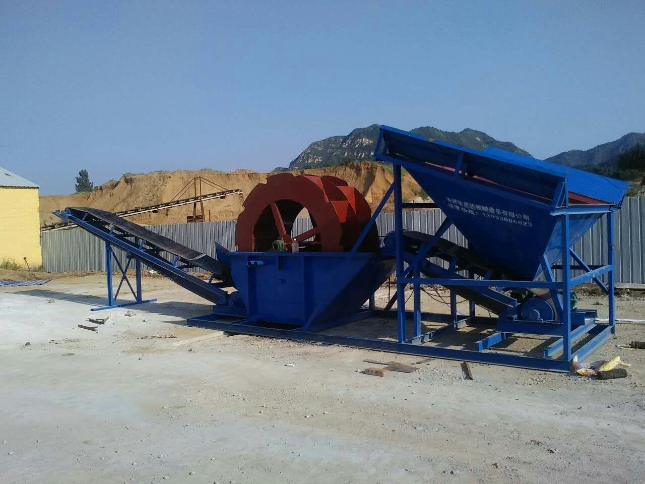 洗沙机筛洗生产线破碎机筛分洗沙一体细沙回收机