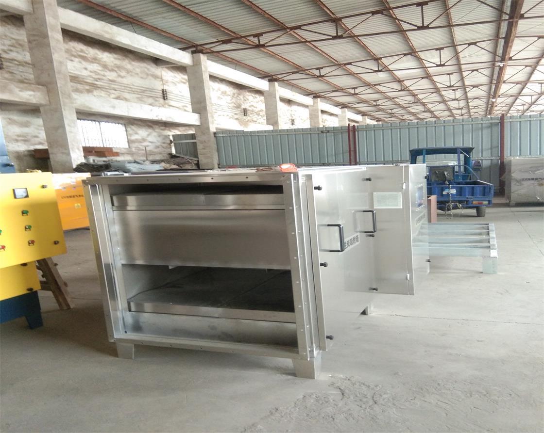 佛山电瓶生产厂活性炭箱设备