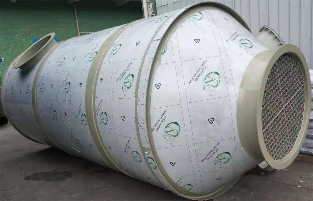 东莞喷淋水塔电线生产厂废气处理工程