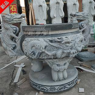 惠安石雕香炉雕刻(多图欣赏)