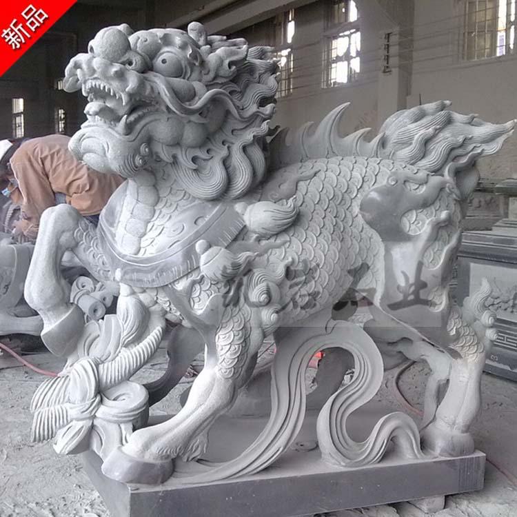 惠安石雕麒麟雕刻(多圖欣賞)