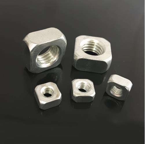 现货供应方螺母 四方螺母 方形螺母生产厂家