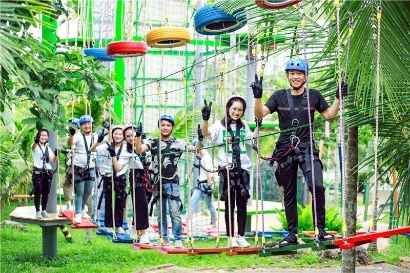 郑州 景区【丛林探险】项目优势【乐可岛】