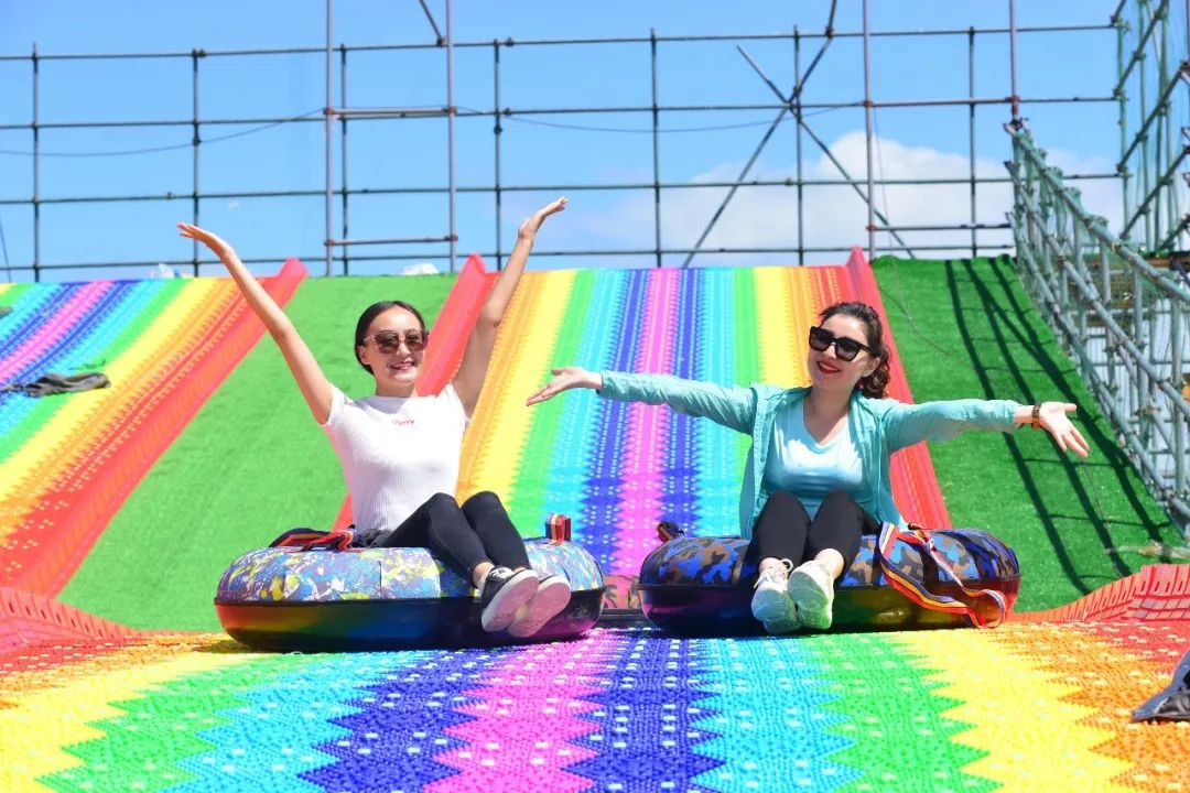 郑州【彩虹滑道】种类 游乐设备【乐可岛】