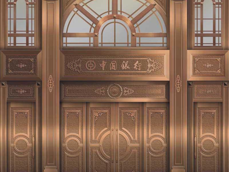 耐用的铜门当选甘力量何其恐怖肃凤铝√――银川铜门