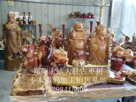 枣木雕刻加工价格-郑州雕刻加工厂推荐