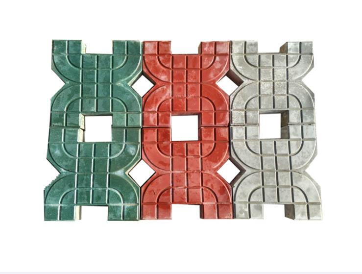 定西草坪砖,甘肃草坪砖厂家,兰州草坪砖-龙翔彩砖供应草坪砖