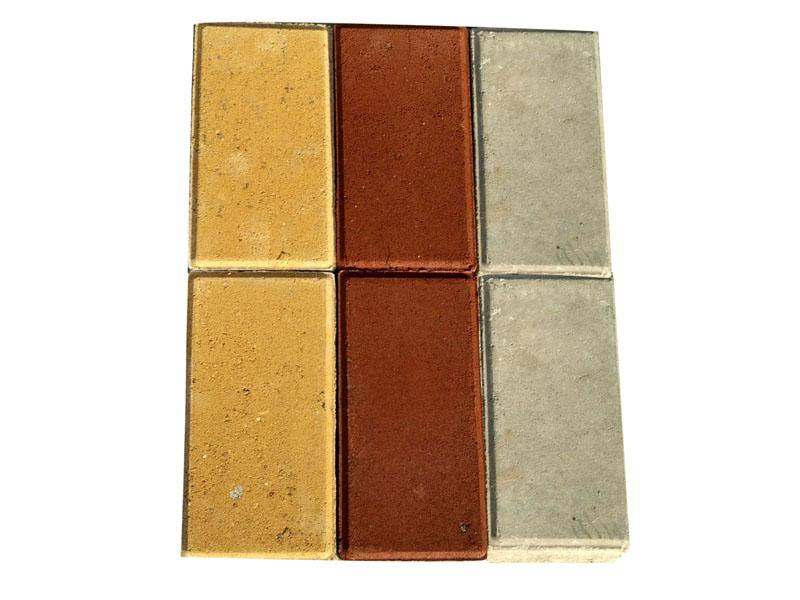 白银渗水砖,张掖渗水砖价格-龙翔彩砖厂优良渗水砖批发