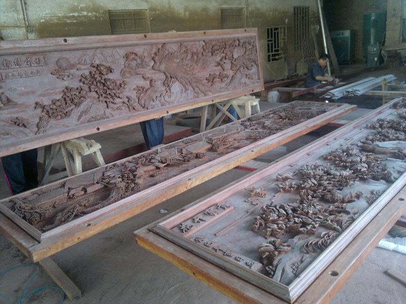 鯉城紅木花雕生產廠家|別致的紅木花雕當選金易紅木