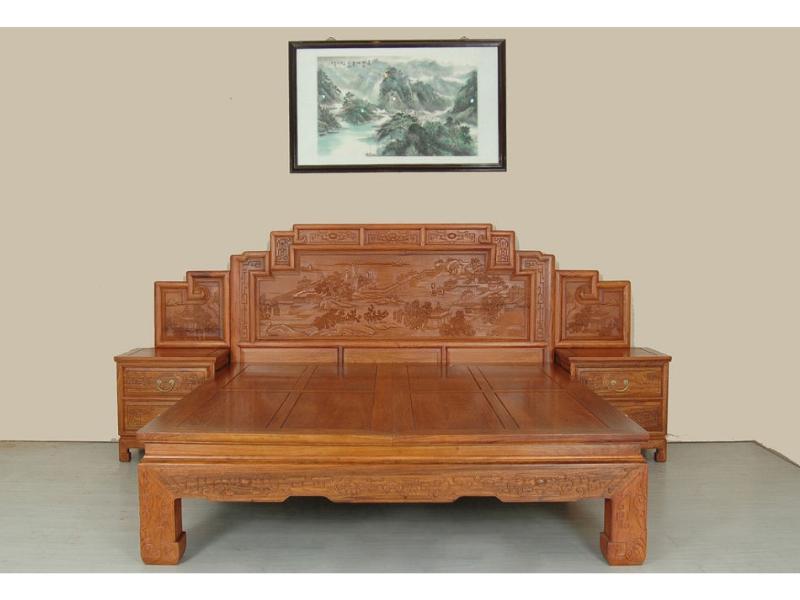 红木家具供应商_优惠的红木床金易红木供应