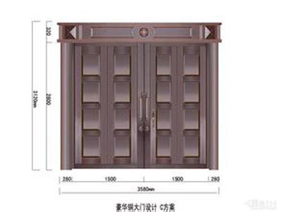 甘肃铜门,兰州铜门价格,青海铜门-好用的铜门就选金顶鑫门业