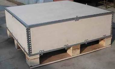 【推荐】山东新能源木箱厂家—青岛常用包装箱定制—实木托盘