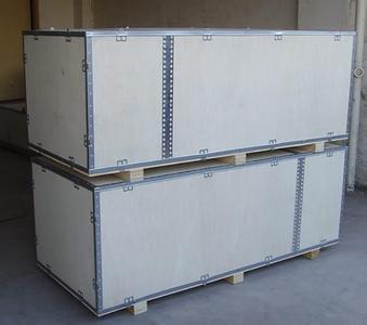 山东低价木箱厂家—青岛包装箱定制—胶南赛尔包装工程