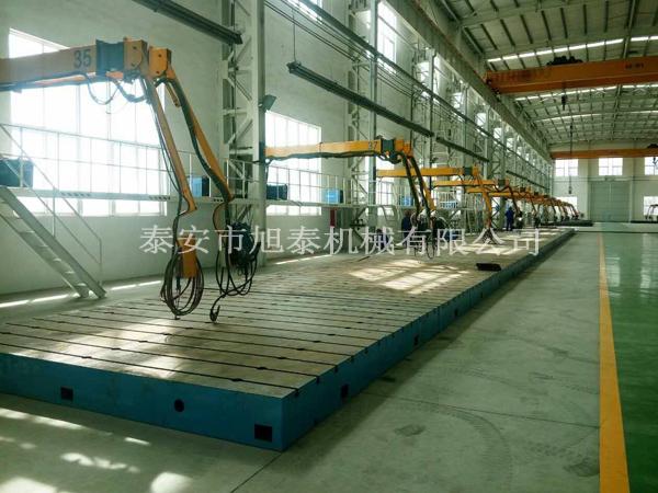 厂家制造斗式提升机焊接设备空间臂