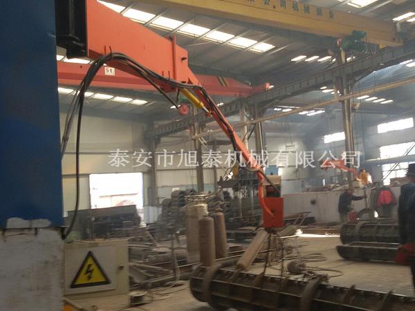 新品上架大型浮頂儲罐焊接設備空間臂旋轉焊機送絲懸臂靈活方便型