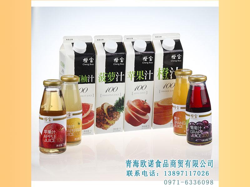 青海欧诺食品_专业的果汁橙汁供应商 饮料批发