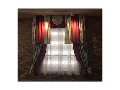 在哪能买到高质量的兰州电动窗帘——张掖窗帘定做厂家