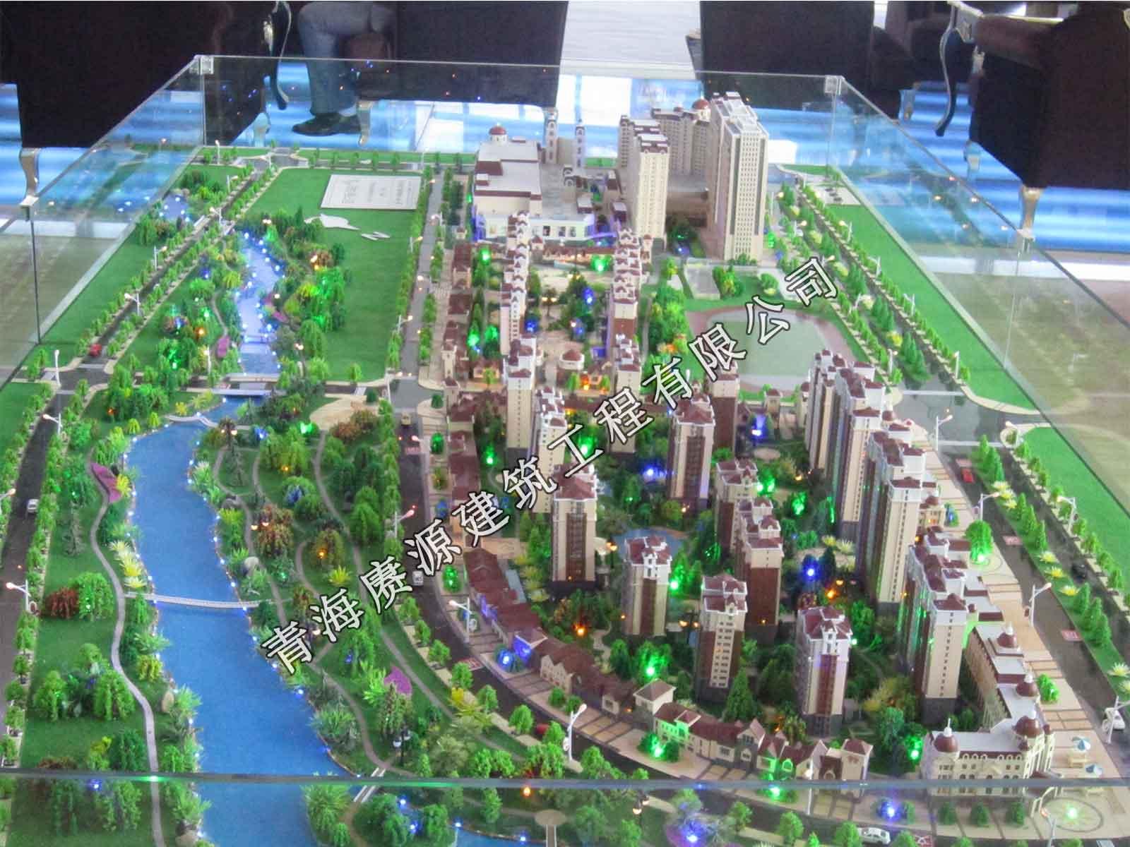 青海賡源建筑工程具有口碑的建筑沙盤模型出售,建筑模型
