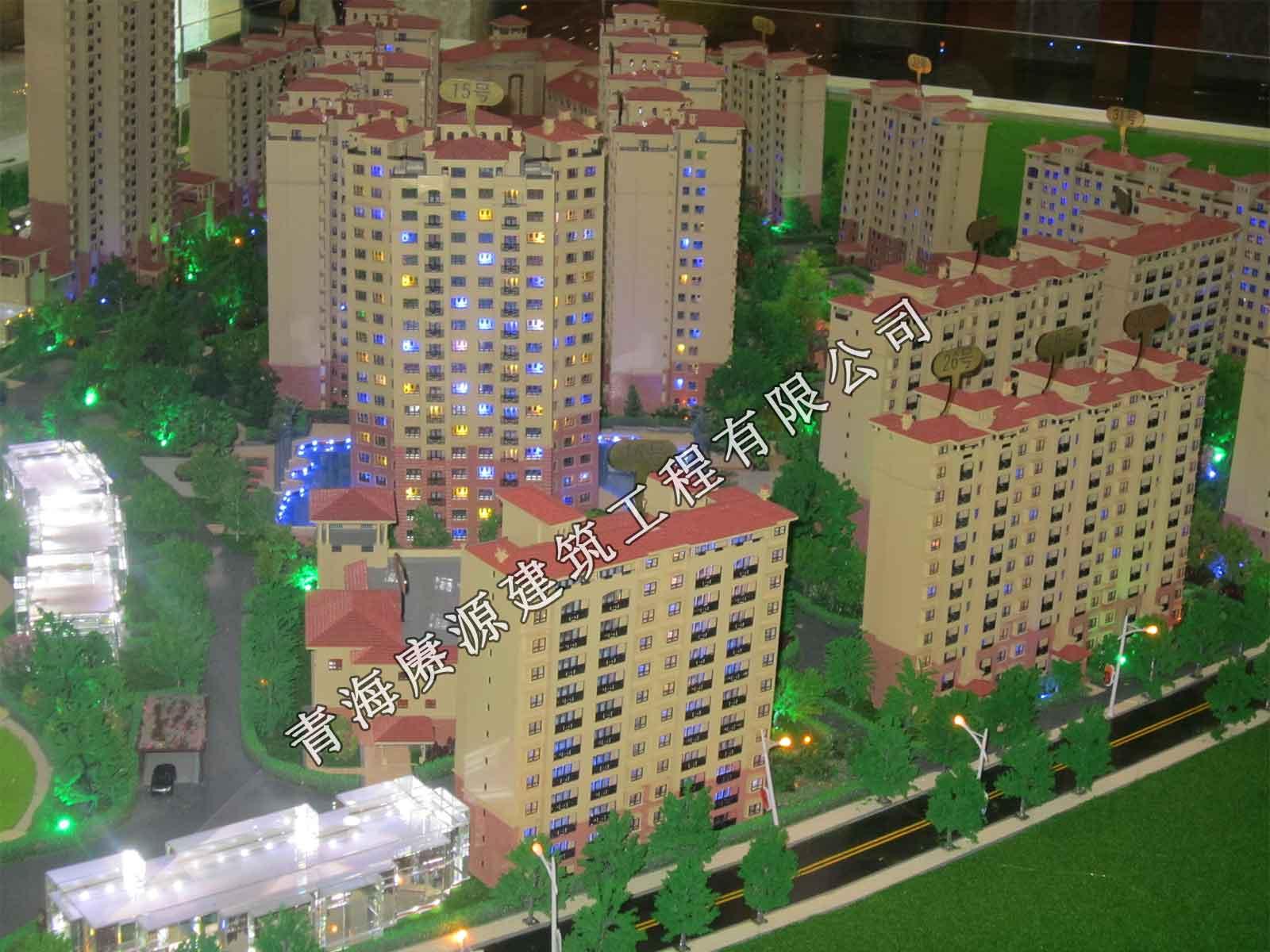 青海赓源建筑工程物超所值的建筑沙盘模型出售,建筑模型