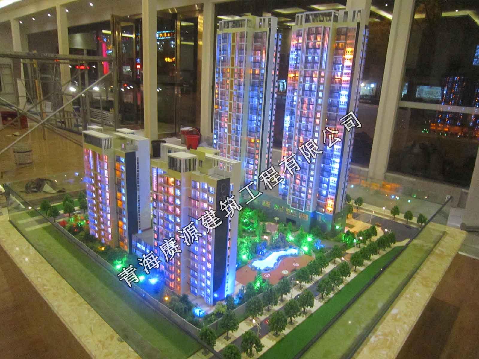 景观模型_买建筑沙盘模型到青海赓源建筑工程