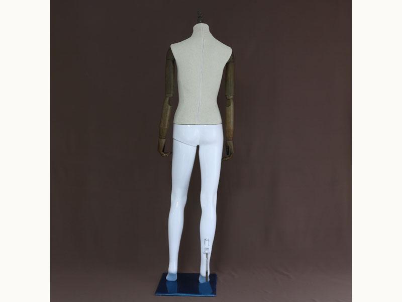 怎样购买质量好的仿木塑料拼接模特-道具模特