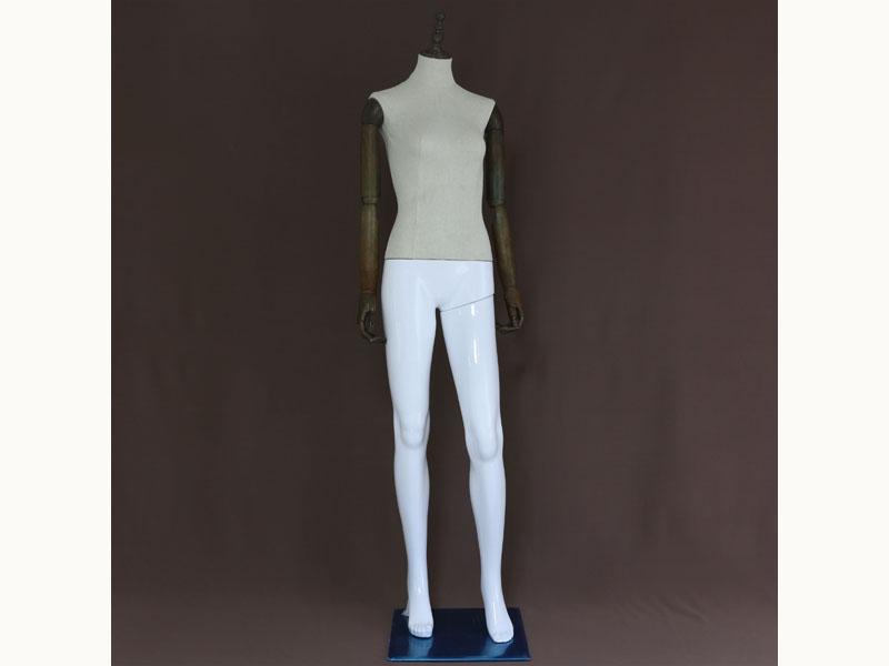 服装模特厂家-肇庆款式新颖的仿木塑料拼接模特批发出售