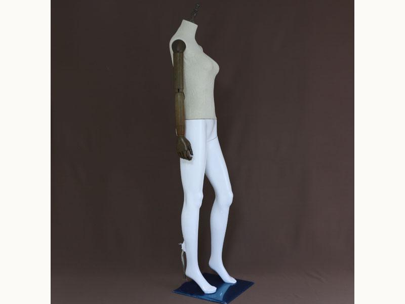 肇庆服装店模特-广东靠谱的仿木塑料拼接模特供应商是哪家