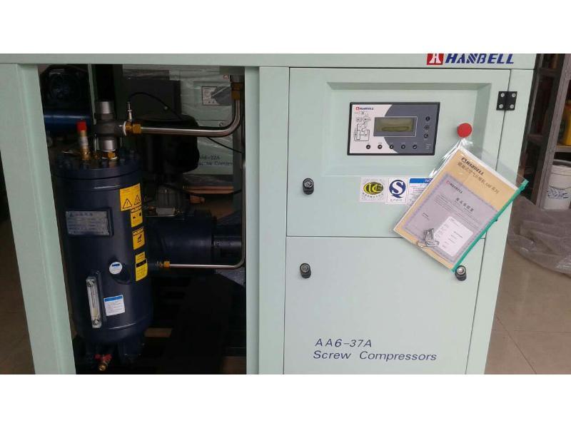 晋江台湾汉钟空压机多少钱一台,空压机保养价格请找晋江众凯设备