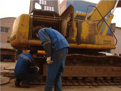 甘肃专业的挖机维修推荐-陇南挖机维修