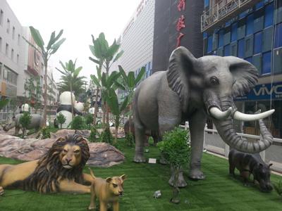 庆阳生态园建造工程-甘肃生态景观工程制作厂家